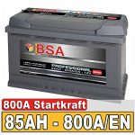 BSA Autobatterie
