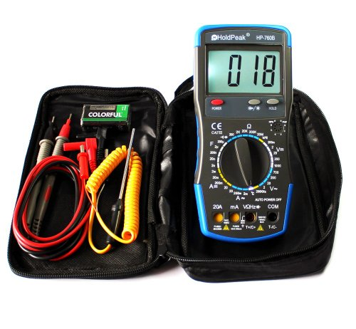 20A CATIII Digital Multimeter HP-760B