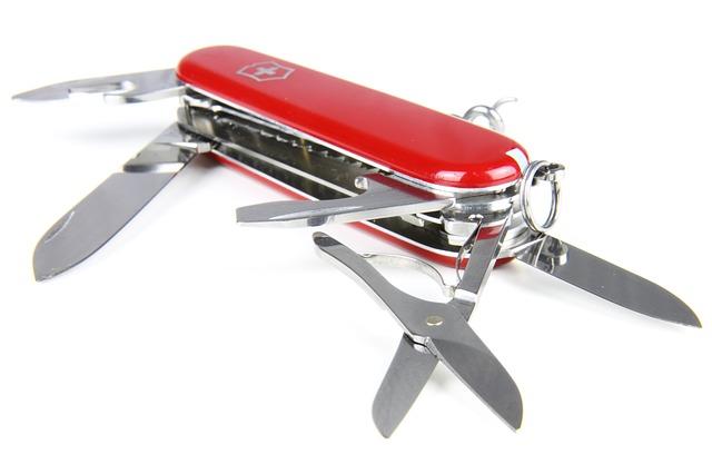 Werkzeugring statt Taschenmesser