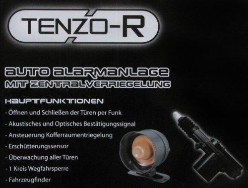 Tenzo-R Auto-Alarmanlage