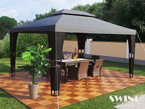 Swing & Harmonie Luxus Rattan Pavillon