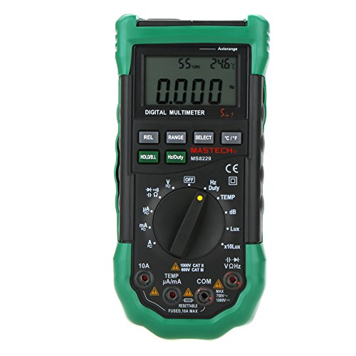 MASTECH MS8229 5-in-1 Digital-Multimeter